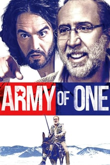 Army of One 2016 bluray