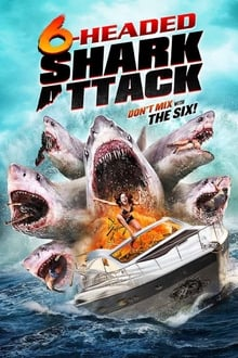6-Headed Shark Attack 2018 bluray