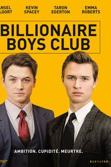 Billionaire Boys Club 2018 bluray film complet